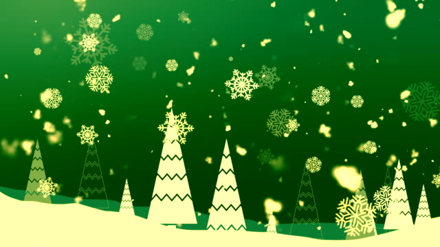 Christmas Snowflakes 2 Loopable Background video