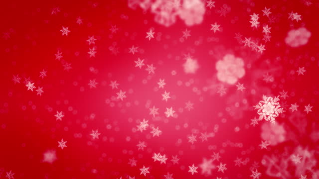Christmas snowflakes loopable video