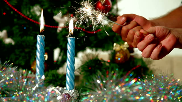 Christmas Sparklers video