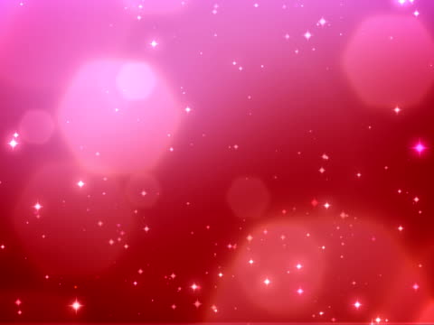 Christmas sparkles red background - loopable, NTSC video