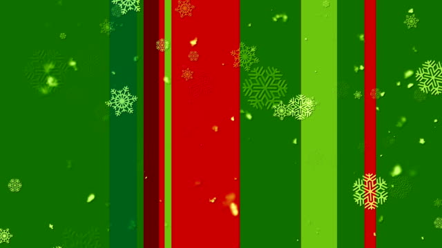 Christmas Stripes 2 Loopable Background video
