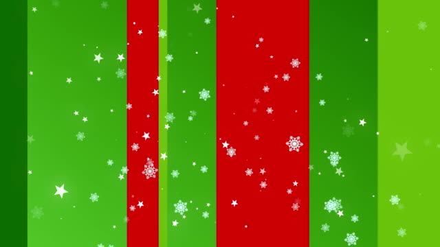 Christmas Stripes 3 Loopable Background video