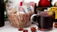 Christmas treats and mulled wine video