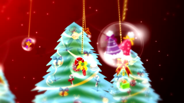 Christmas Tree and Ball video