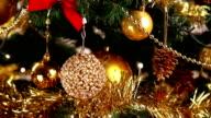 Christmas tree decoration video