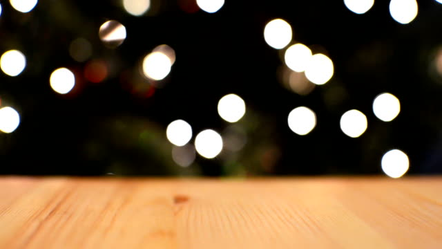 Christmas Tree Lights - Table Surface video