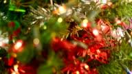 Christmas tree lights. video