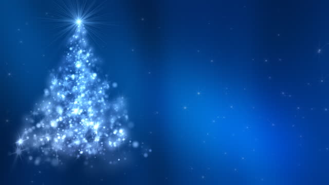 Christmas Tree V2 Background Loopable video
