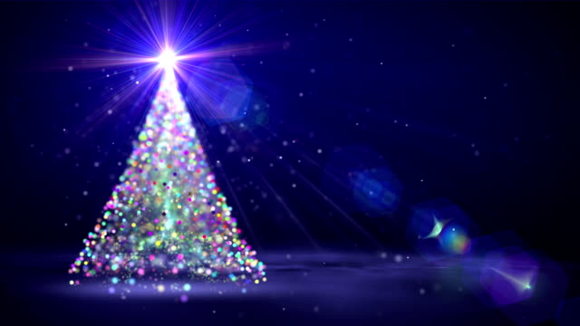 Christmas tree video