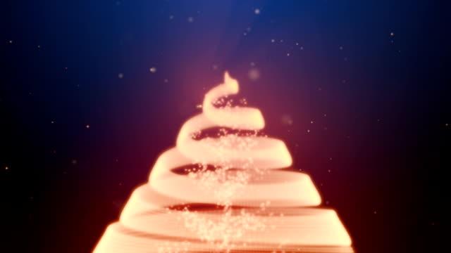 Christmas Tree with Lights video