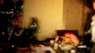 (8mm Vintage) 1956 Christmas Turkey Dinner Family Holiday Meal video