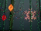 Christmas, Winter, Holiday Symbols Hanging video