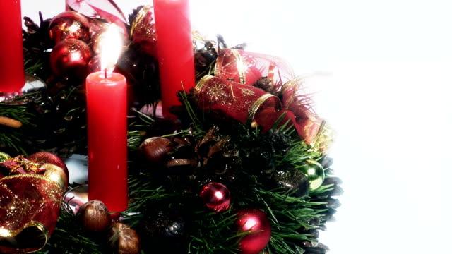 HD - Christmas wreath video