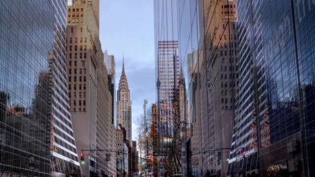 Chrysler Building Timelapse Manhattan NYC Seamless Loop 24 Hours video