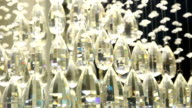 Chrystal chandelier close-up video