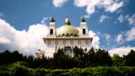 Church by architect Otto Wagner - Time Lapse video