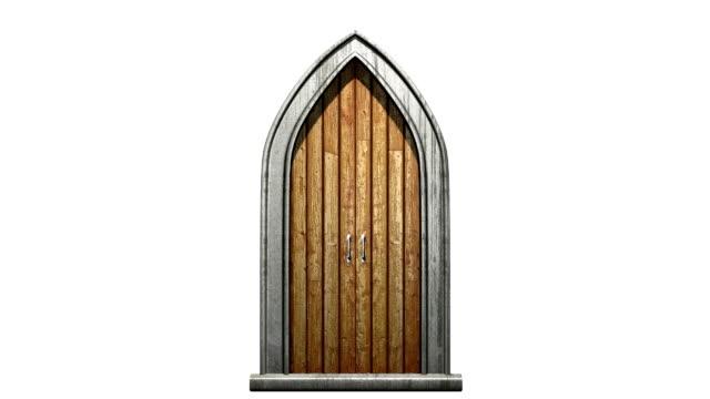 church door video