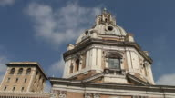 Church Holy Name of Mary at Trajan's Forum and Column video