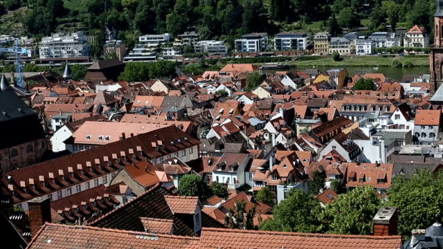 Church in Heidelberg Germany. video