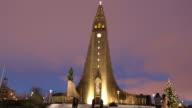 Church of Iceland parish church in Reykjavik video