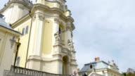 church saintly Jurij Lviv renesans pan up video