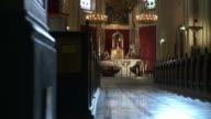 HD DOLLY: Church Sanctuary video