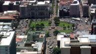 Church Square  - Aerial View - Gauteng,  City of Tshwane Metropolitan Municipality,  City of Tshwane,  South Africa video