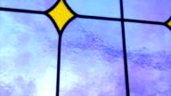 Church Stained Glass Window video