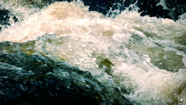 Churning River video