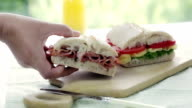 Ciabatta Sandwich video