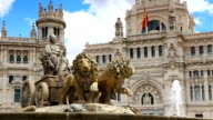 Cibeles Square, Madrid(3 different shot) video