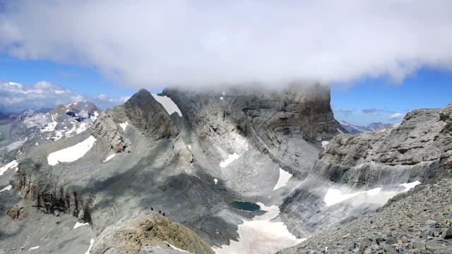 Cilindro de Marbore from Monte Perdido, Pyrenees video