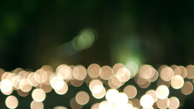 Circle light bokeh background video