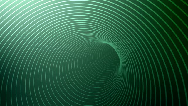 Circle Tunnel Background 4K video