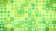 circles and squares geometric loopable background video