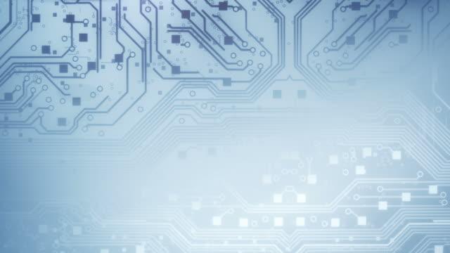Circuit Board Background - Loop video