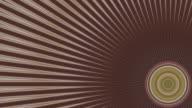 Circular kaleidoscope Radiant video