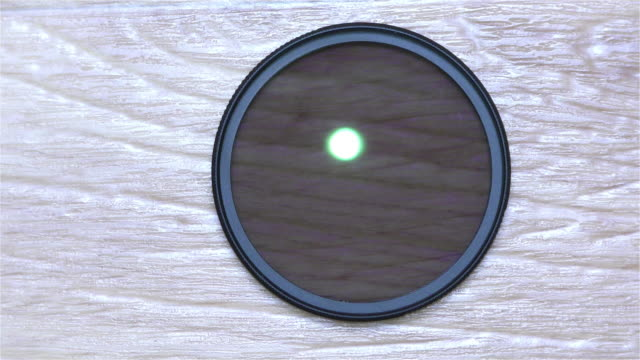 Circular Polarizer Filter For Camera Lens video