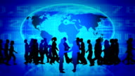 Citizens of the world. Global communication. video