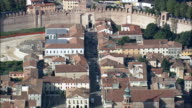 Cittadella  - Aerial View - Veneto, Padua, Cittadella, Italy video
