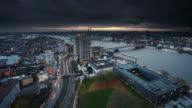 City at Dusk video