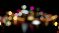 City At Night Bokeh video