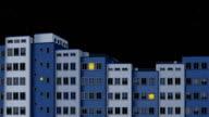 city at night-HD animation video