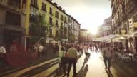 City center of Madrid video