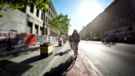 City cycling. video