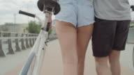 City cycling video