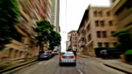SF City Driving Time Lapse video