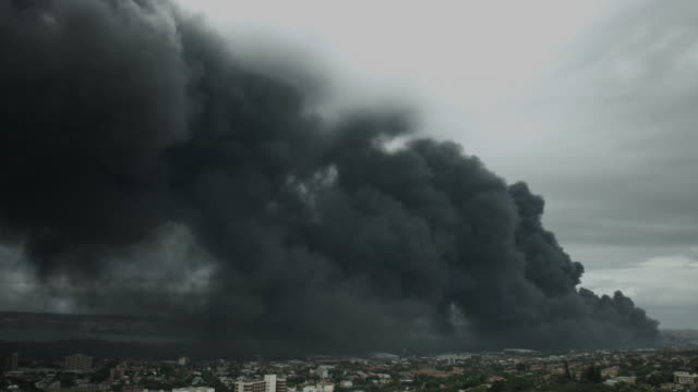 City Fire Disaster video