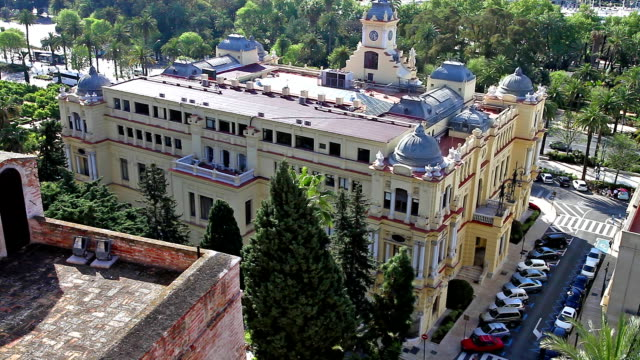 City Hall of Malaga video