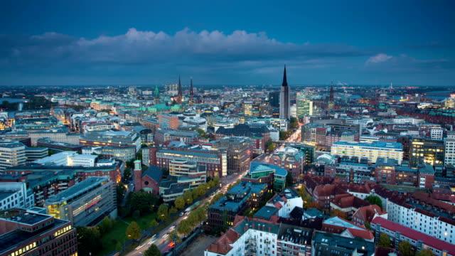 TIME LAPSE: City Hamburg video